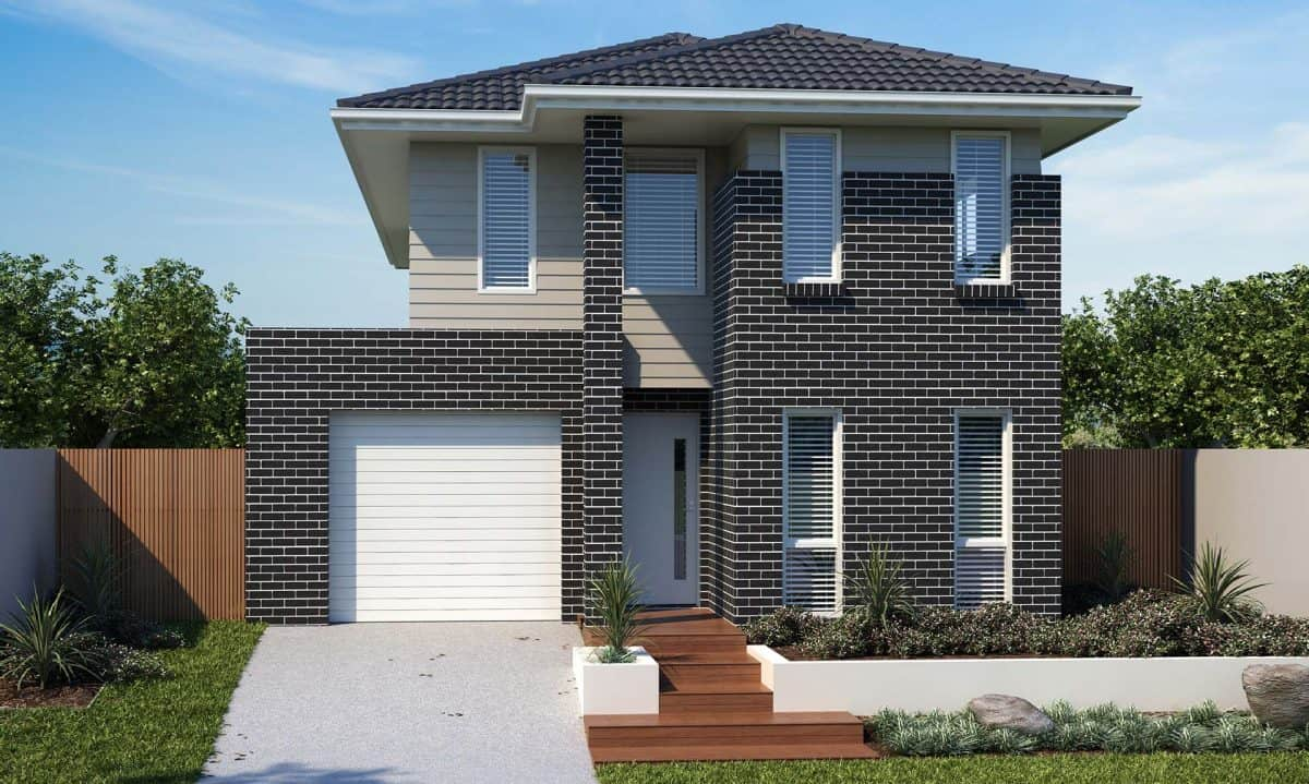adenbrook homes new home builder house and land packages waratah estate - the madden double storey 4 bedroom house
